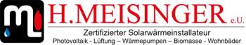 H. Meisinger Installateur | Zertifizierter Solarwärmeinstallateur